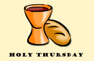 Holy Thursday communion